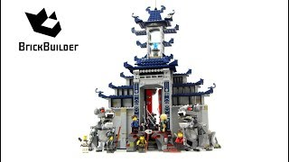 Lego Ninjago 70617 Temple of the Ultimate Ultimate Weapon  - Lego Speed build