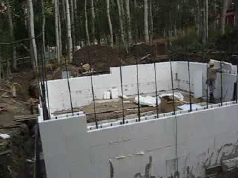 Concrete Footer And Integraspec Icf Foundation Wall How