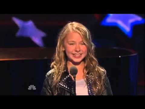"Anna Graceman ""What a Wonderful World"" America"