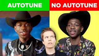 Comparing Singers With & Without Autotune (Lil Nas X, John Legend & MORE)