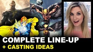 Black Adam 2021 Cast - Hawkgirl, Doctor Fate