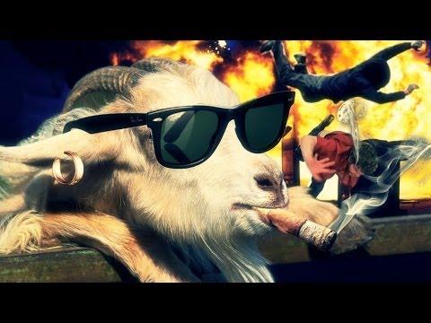ÊTRE UNE CHÈVRE, ÊTRE UN GANGSTER ! - Goat Simulator