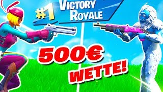 500€ 1v1 Turnier in Fortnite gegen Sevel!