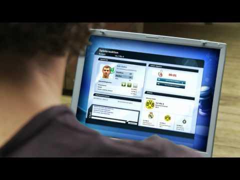 Кликните по картинке чтоб увеличить. Фрагмент из видео: Fifa Manager 2010