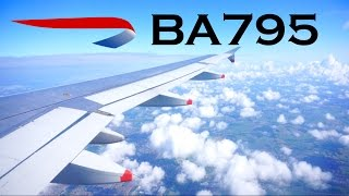 British Airways Airbus A320 Economy Class - Helsinki ✈ London Heathrow (BA795)