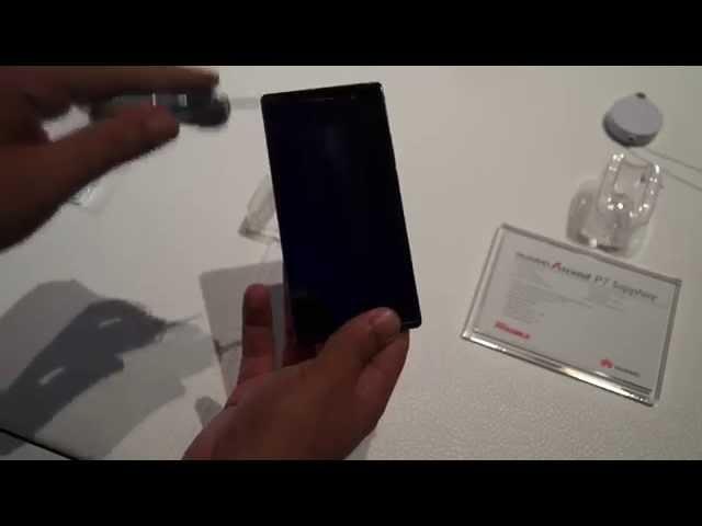 أختبار لطبقة الحماية الياقوت على الهاتف Huawei Ascend P7 Sapphire Edition