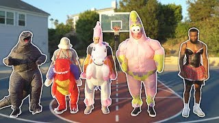 The WEIRDEST game of BASKETBALL EVER...