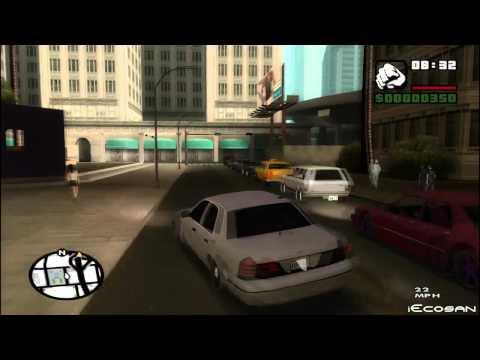 GTA iV police lights to GTA SA