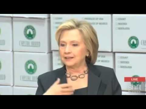 Hillary Clinton on immigration - the media is lying