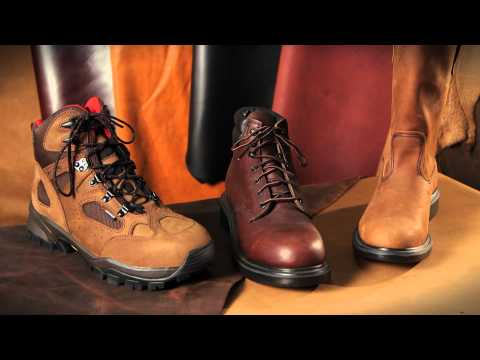 Red Wing Shoes - Leather Technology