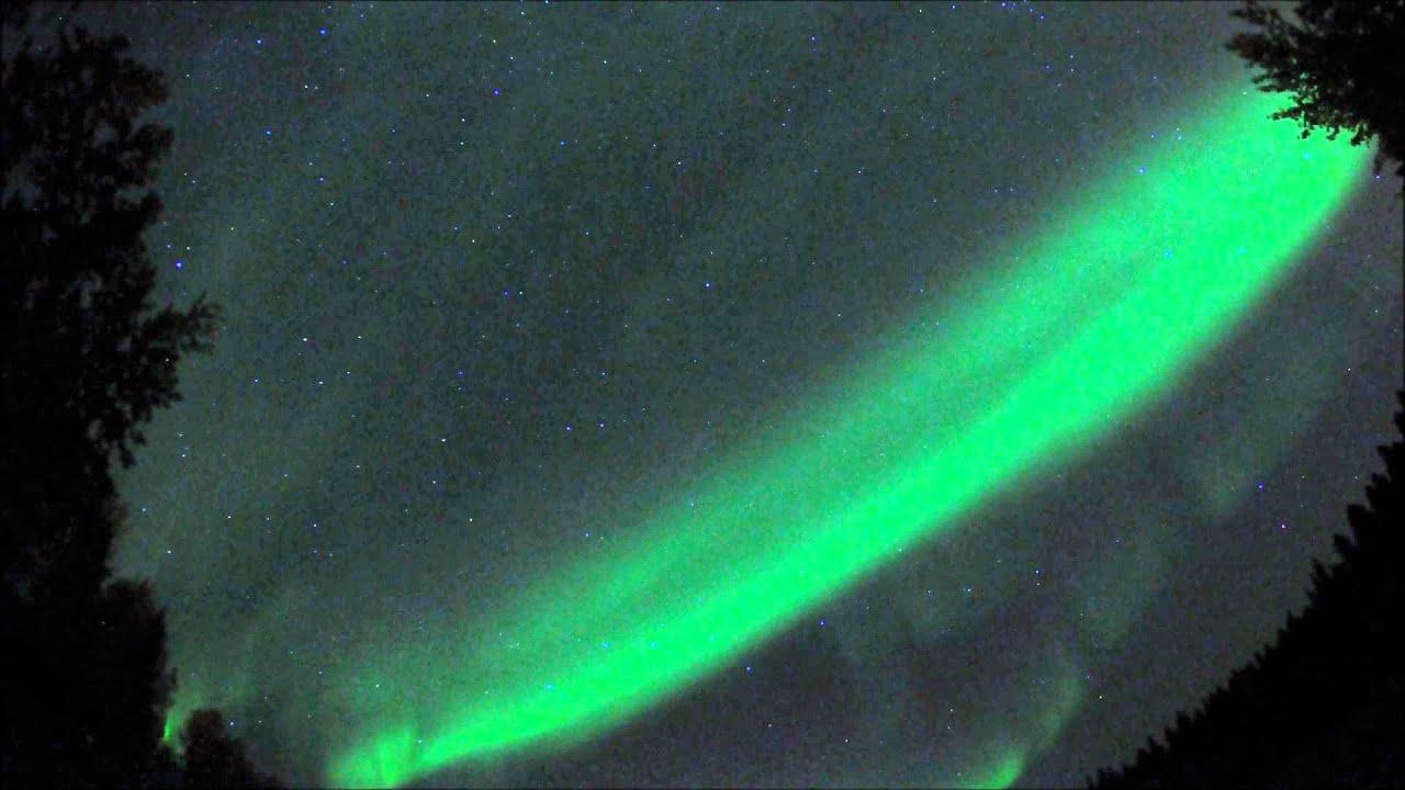 northern lights over fairbanks alaska september 18 2012