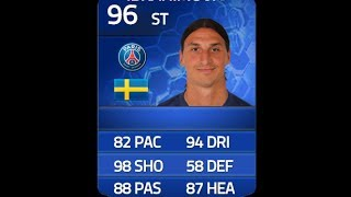 FIFA 14 TOTY IBRAHIMOVIC 96 Player Review & In Game Stats Ultimate Team