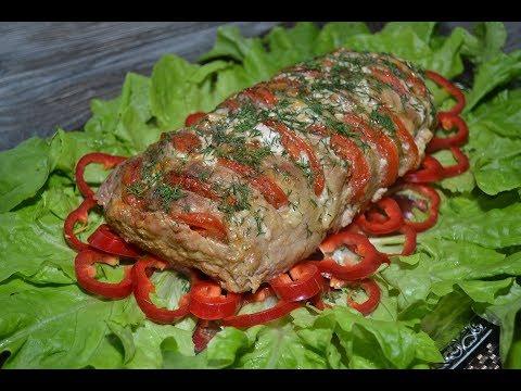 """Мясо """"Гармошка"""".Отличный вариант для праздничного стола!"""