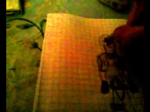 Видео как нарисовать Леона