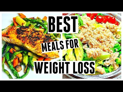 BEST MEALS FOR WEIGHT LOSS | What I Eat To Lose Weight Fast!