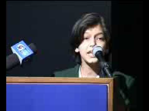 Urdu Debate 2008, New Delhi, Umra Khan, Hamdard Public School, New Delhi.flv