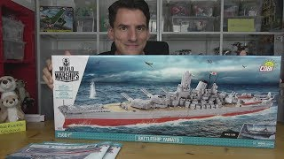 World of Warships Cobi® 3083 - Battleship Yamato