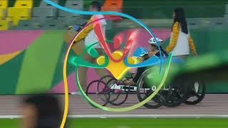 USA Takes Second, Third In Women's T-53 400m Final | Parapan American Games Lima 2019