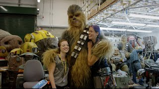 Wookiee Hugs | The Force Awakens Bonus Features