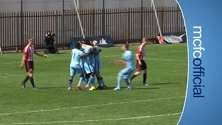 BOADU BRILLIANT SOLO GOAL   City U18 2-0 Sunderland