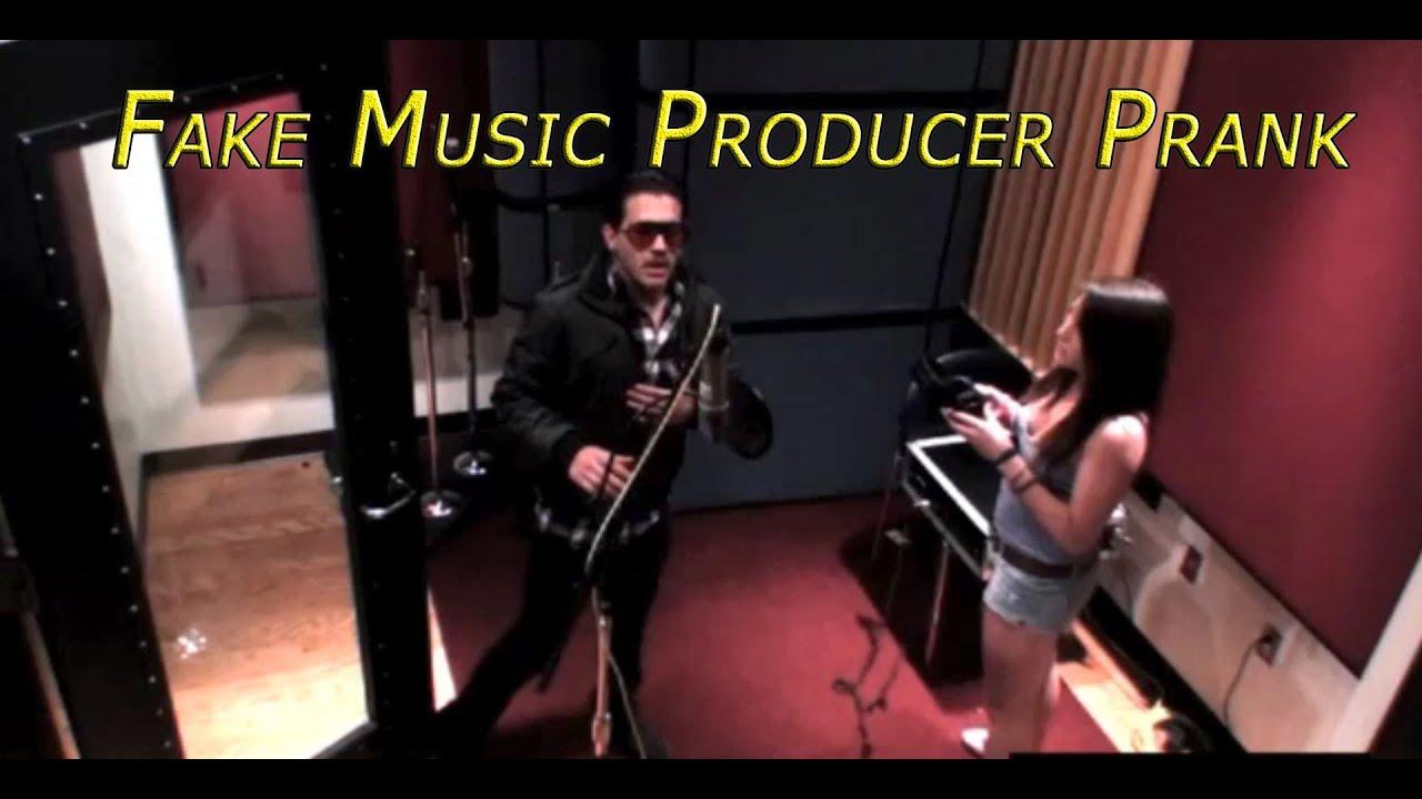 Fake Music Producer Prank