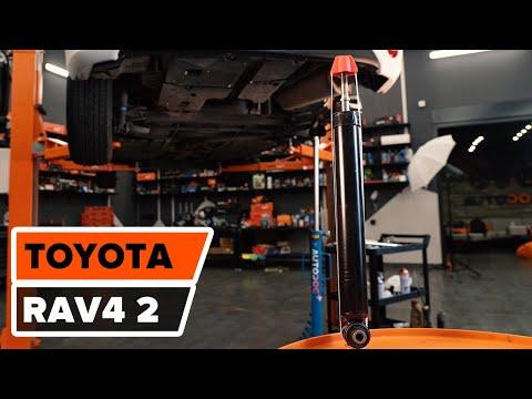 Como substituir a amortecedores traseiros no  TOYOTA RAV4 [TUTORIAL]