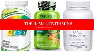 ✔️ TOP 10 BEST MULTIVITAMINS ???? Amazon 2020