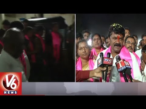 Minister Talasani Srinivas Yadav Speed Up Election Campaign In Sanath Nagar | Hyderabad | V6