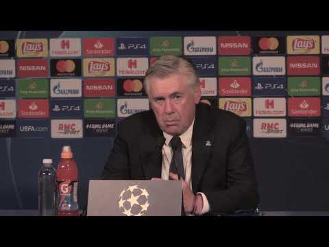conferenza stampa dopo PSG - Napoli