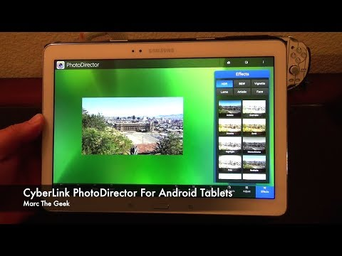 CyberLink PhotoDirector for Android Tablets