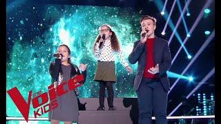 Daniel Balavoine - Tous les cris les SOS | Enzo - Emma - Marie | The Voice Kids France 2018 |...