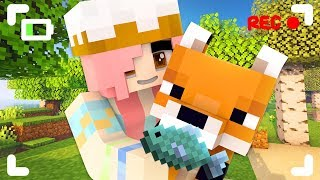 We find the cutest fox in Minecraft!