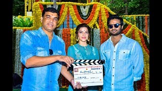 Sudheer Babu and Mehreen New Movie Launch Video | SillyMonks Tollywoo