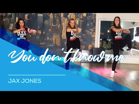 You Don't Know Me - Jax Jones - Watch on computer - HipNThigh Fitness Choreo Dance