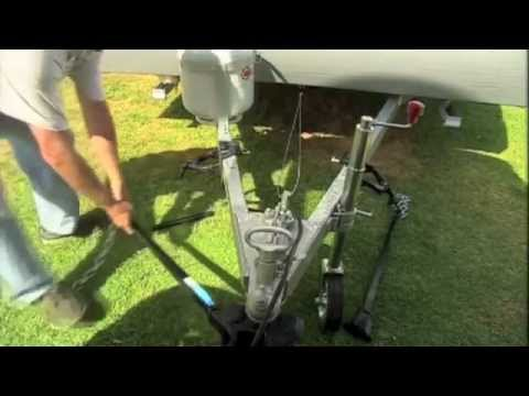 How to Tow a Camper Trailer - The Towbar. Hitch and D-Shackles
