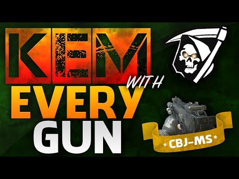 KEM w/Everygun! - (CBJ-MS) - Call of Duty: Ghosts