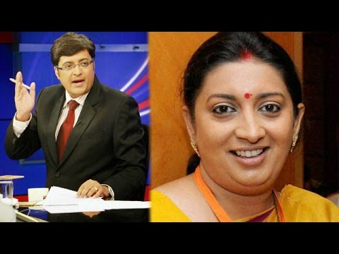 The Newshour Direct: Smriti Irani (1st September 2014)
