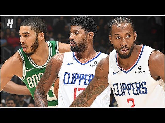 Boston Celtics vs Los Angeles Clippers - Full Game Highlights | November 20, 2019 NBA Season thumbnail