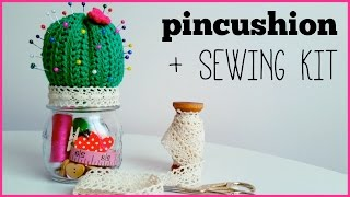How to crochet CACTUS PINCUSHION ♥ CROCHET LOVERS