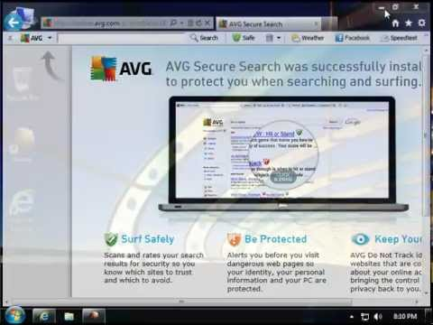 How to Remove AVG Security Toolbar