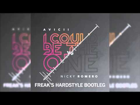 Avicii vs Nicky Romero - I Could Be The One (Freaks Hardstyle Bootleg)