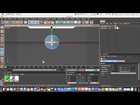 Cinema 4d – Basic Modeling (Abstract Spheres)