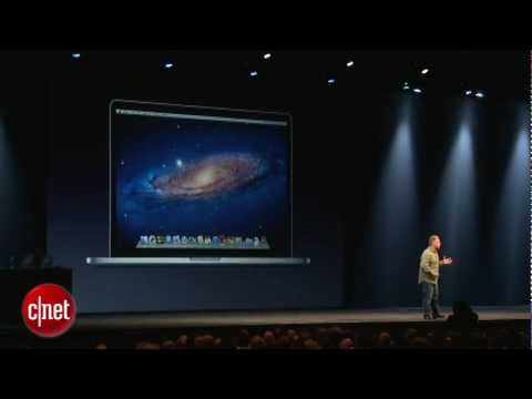 CNET News: Apple unveils next-gen MacBook Pro with Retina Display Music Videos
