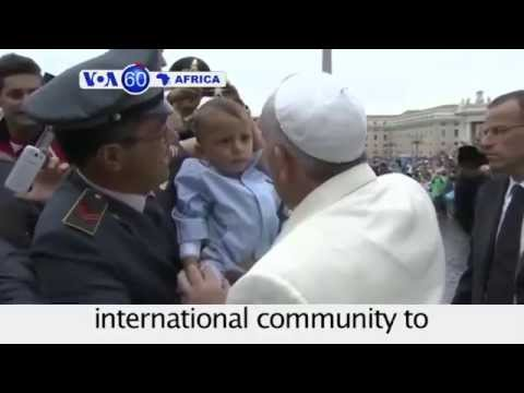 Pope Francis calls on international community to help Ebola victims - VOA60 Africa 09-24-14