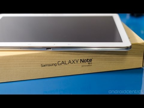 Samsung Galaxy Note 10.1 2014 Edition hands-on overview