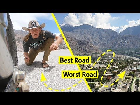 Gilgit - Pakistan's Worst and Best Road | Part 3 of 4 | American Rickshaw Wala | Episode 19