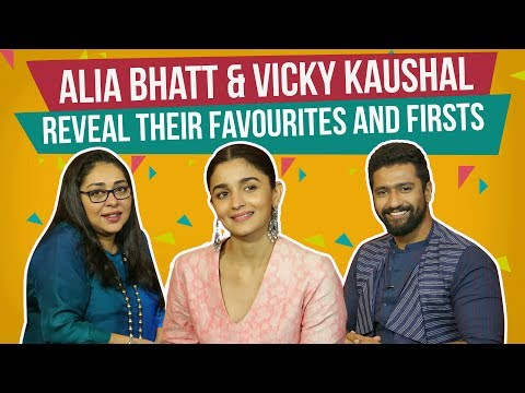 Alia Bhatt & Vicky Kaushal reveal their favourites and firsts | Raazi | Pinkvilla thumbnail