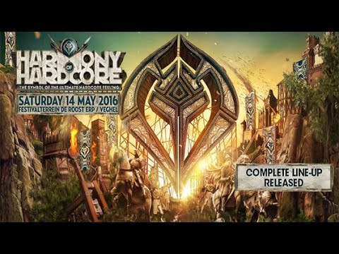 Harmony of Hardcore 2016 The Symbol of The Ultimate Hardcore Feeling | Hardcore | Goosebumpers
