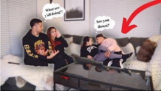 "LETS ""DO IT"" IN OUR FRIENDS HOUSE PRANK! FT. KB & KARLA"