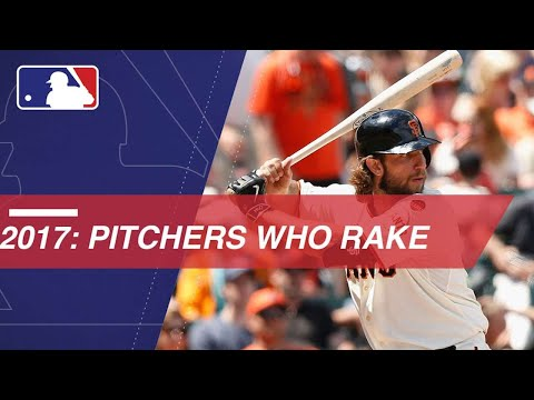 Take a look back at the top offensive performances by pitchers during the 2017 Major League Baseball season, including Madison Bumgarner's continued dominance, Max Scherzer's first career home...
